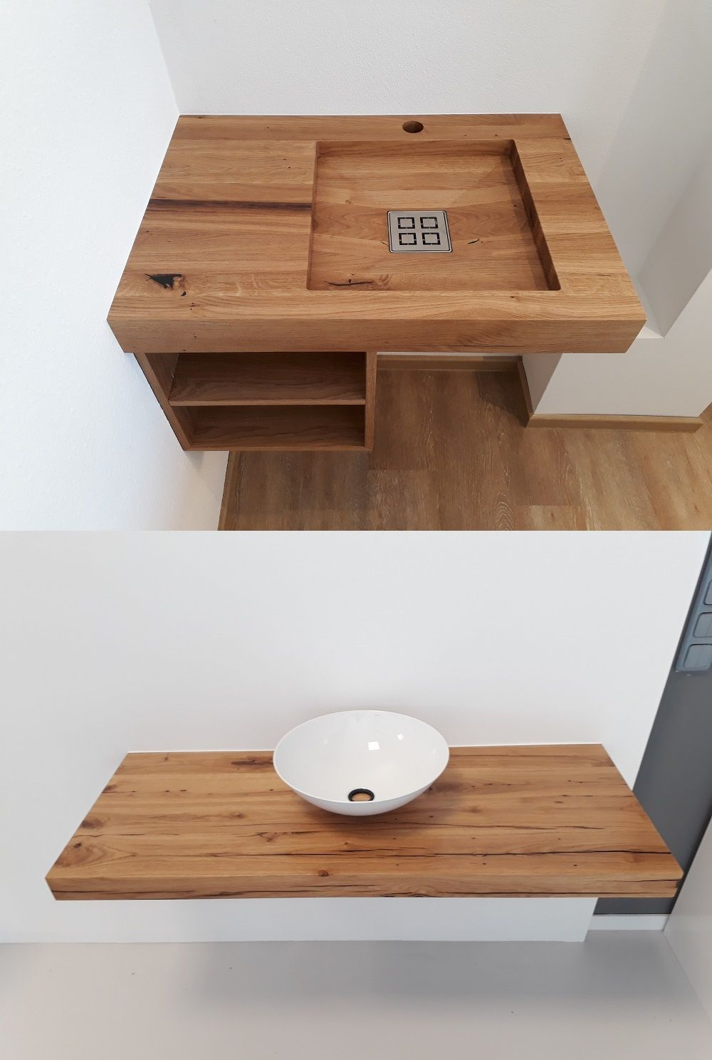 Simple Chic Waschbecken Aus Holz Woodbasin Das Ist Woraus