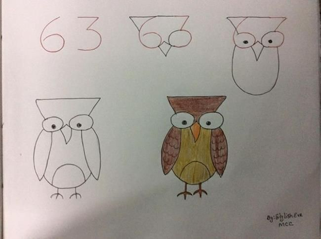 Ingeniosos Trucos Para Dibujar Drawing For Kids Easy Drawings Cute Drawings