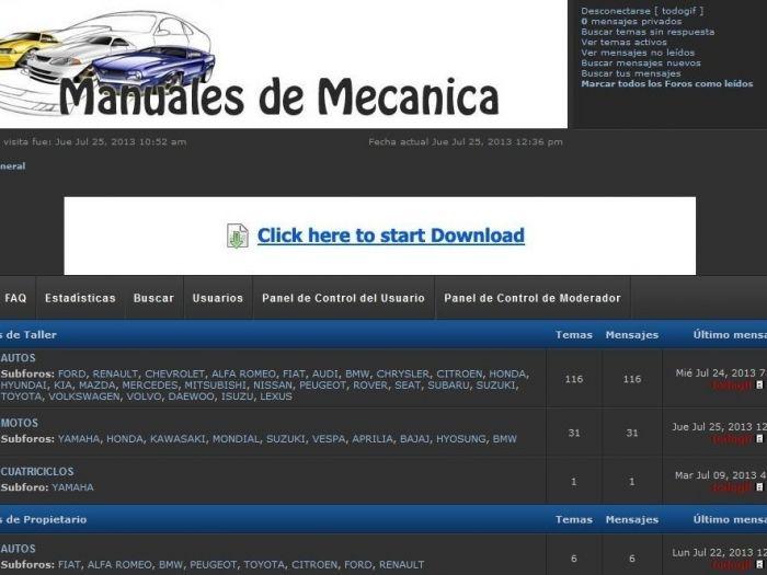 Manuales De Mecanica Gratis - Autos Y Motos