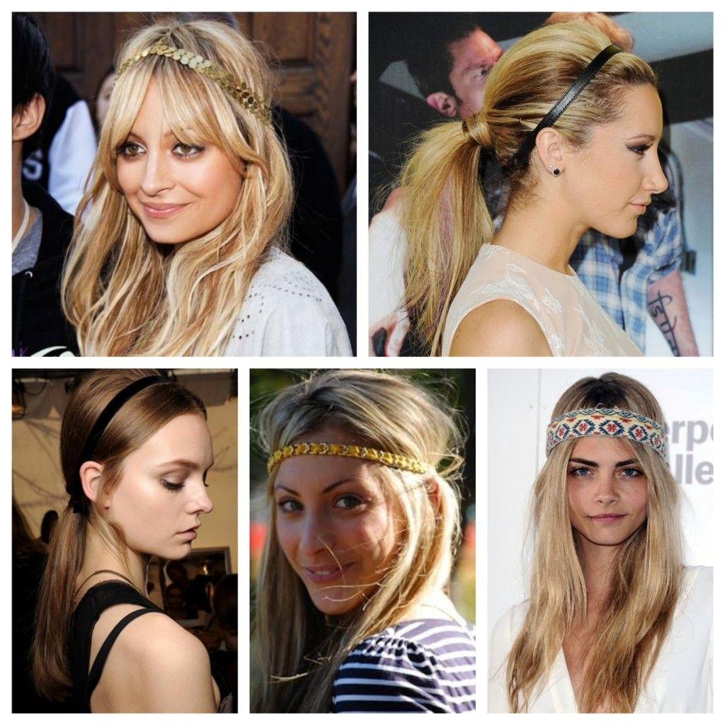 Comment porter un headband et le mettre dans ses cheveux boucles pinterest cheveux - Comment porter le headband ...