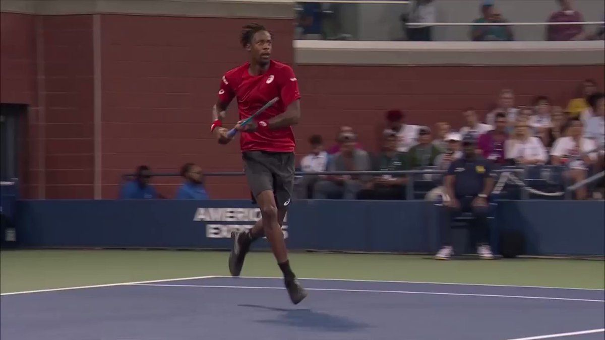 Us Open Tennis On Twitter When You Are Gael Monfils Every Day Is Leapday In 2020 Gael Monfils Tennis High Jump