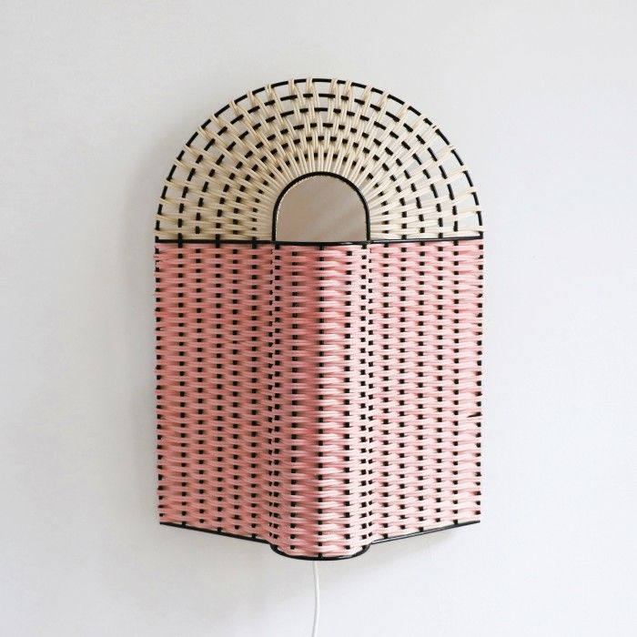 PAON Lamp Pink And Natural In 2019