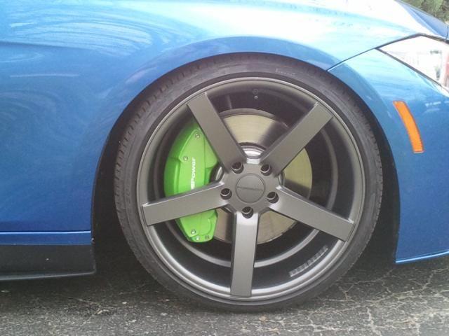 BMW Lime Candy Coat Brake Caliper Cover By Ravenus Studios Brake - Bmw brake caliper decals
