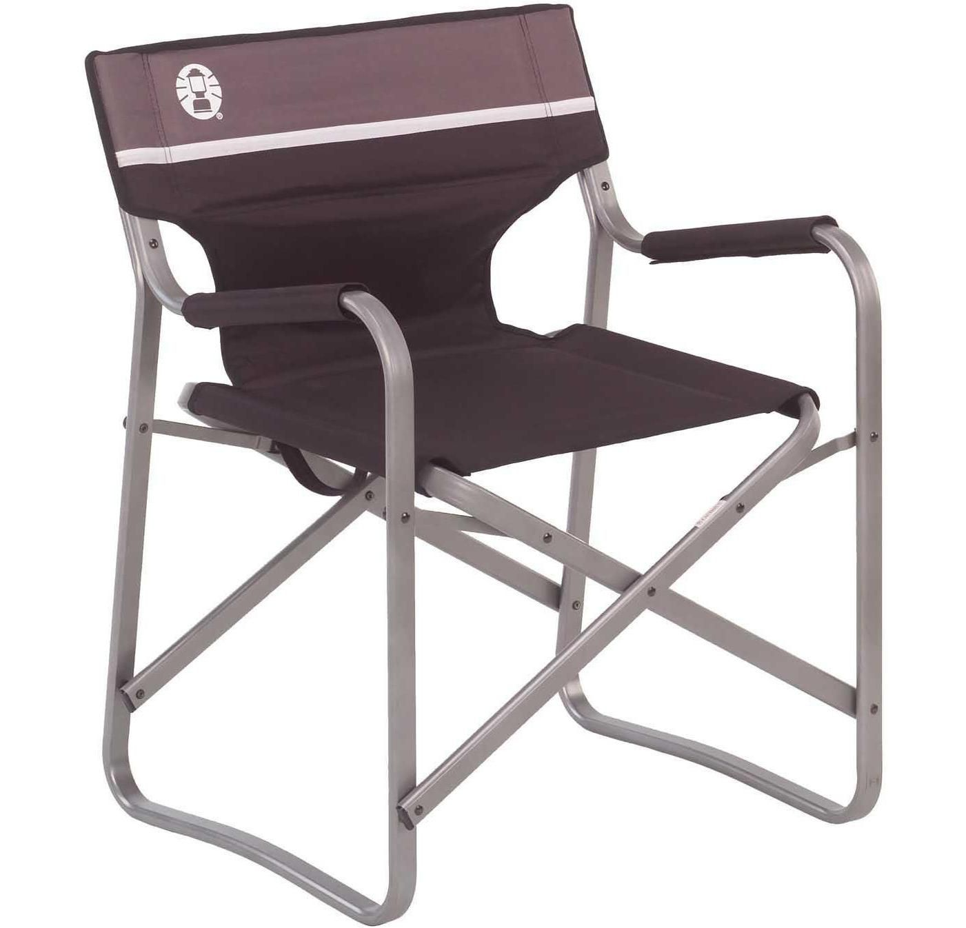 Coleman Deck Chair With Out Table Outdoor Folding Chairs Deck Chairs Camping Table