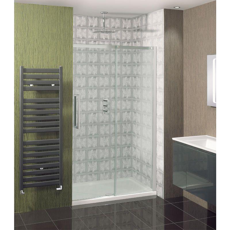 Simpsons - Ten Single Slider Shower Door - 4 Size Options | Shower ...