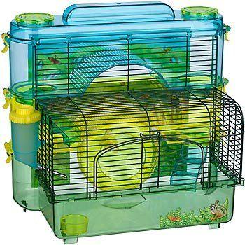 Amazon Com Sam Small Animal Rainforest 3 Level Home Small Animal Cage 15 5 L X 10 W X 16 5 H Pet Supplies Small Animal Cage Pet Cage Small Pets