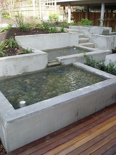 Diy concrete projects fuentes jard n jardines for Diseno de fuente de jardin al aire libre