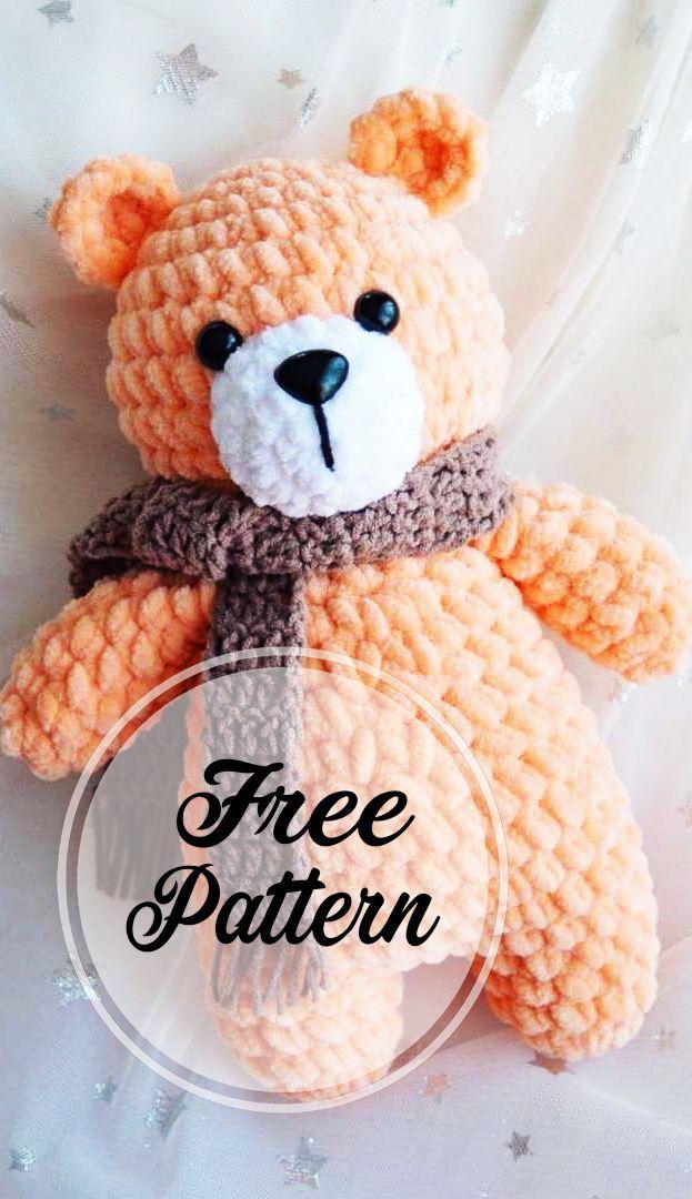Photo of Plüschbär Amigurumi Crochet Free Pattern – Seite 2 von 3 – Amigurumi Crochet