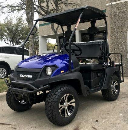 Brand New Gas Golf Cart UTV Hybrid Linhai Big Horn 200 GVX Side by