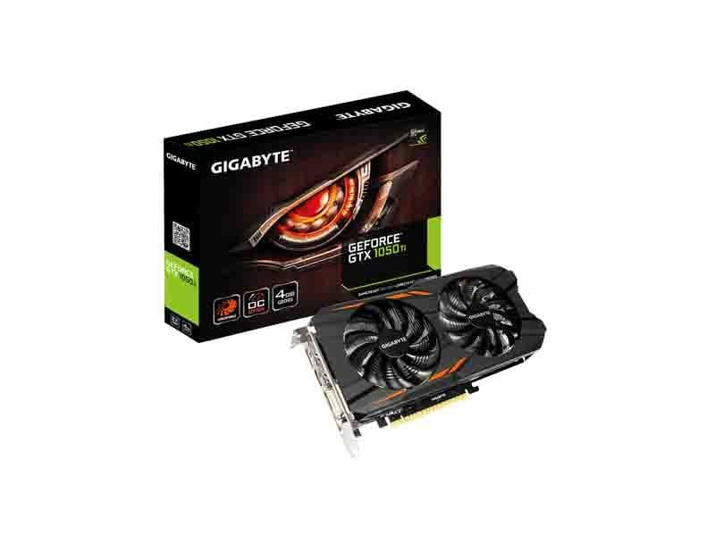 Gigabyte Geforce Gtx 1050 Ti Oc 4g Graphics Card Graphic Card