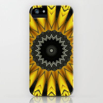 Mandala logic iPhone & iPod Case by Christine baessler - $35.00
