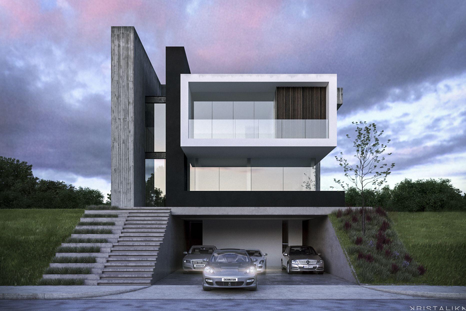 De la torre house kristalika arquitecture and interior design in 2019 pinterest Casas minimalistas modernas