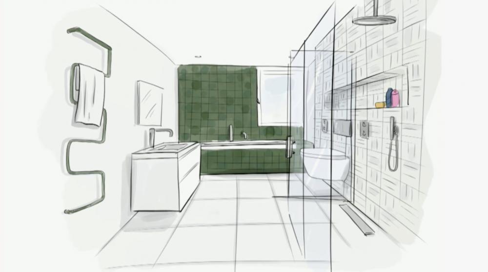 Modern-Oosterse badkamer: ontwerp - Eigen Huis en Tuin - Badkamer ...