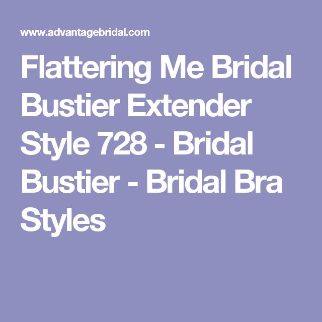c4596511793 Flattering Me Bridal Bustier Extender Style 728 - Bridal Bustier - Bridal  Bra Styles Compras