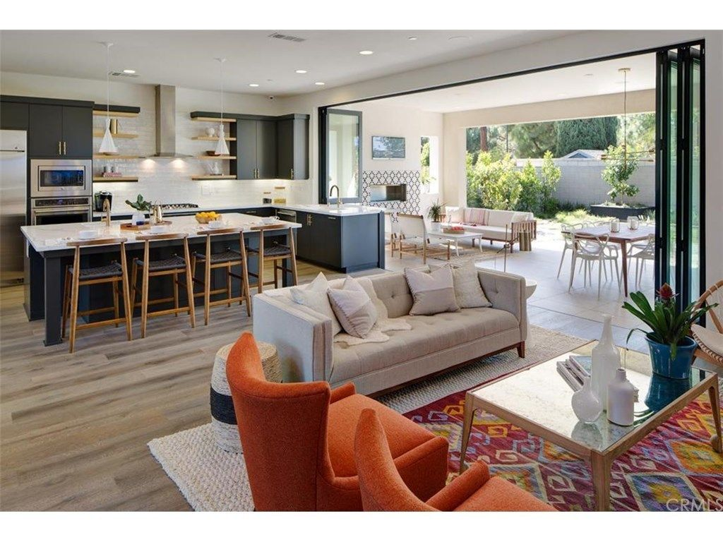 Lake House Floor Plan Indoor Outdoor Kitchen Mid Century Modern Living Room Living Room Decor Modern #outdoor #living #room #designs