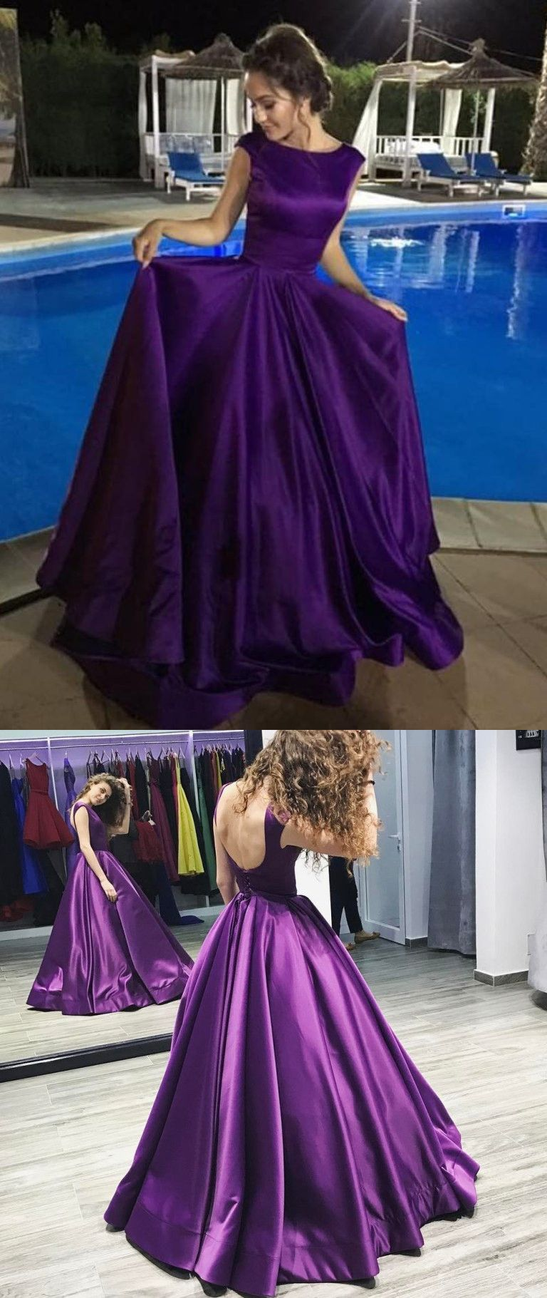Chic cheap prom dress modest beautiful long prom dress er in