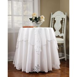 Superieur Battenburg 70 Inch Round Tablecloth And Topper Set | Overstock™ Shopping    Great Deals
