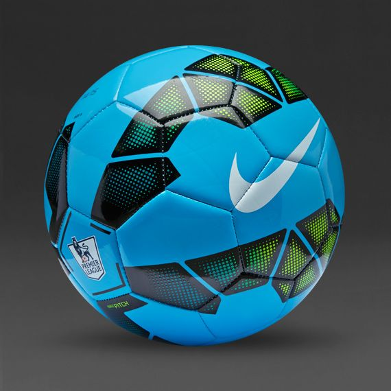 Nike Soccer Balls Nike Pitch Epl Ball Blue Black Volt Sc2400 471 Nike Soccer Ball Soccer Soccer Balls