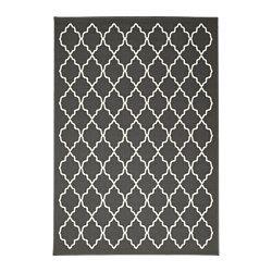 IKEA - HOVSLUND, Teppich Kurzflor, Aus Synthetikfasern und daher robust, fleckabweisend und leicht zu reinigen.Lässt sich dank der glatten Oberfläche leicht staubsaugen.