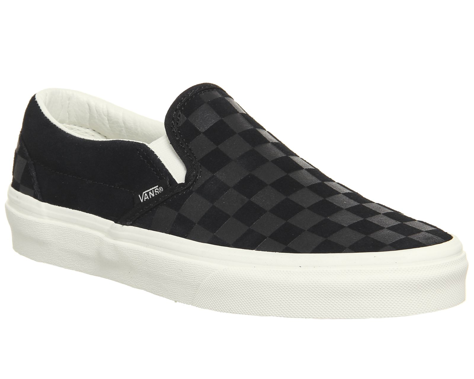 Vans Classic Slip On Trainers | Vans slip on black, Vans ...