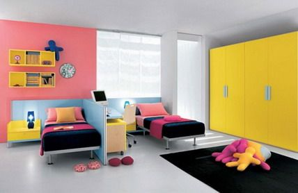 chambre-ado-lits-separes | Dětské pokoje/children room | Pinterest ...