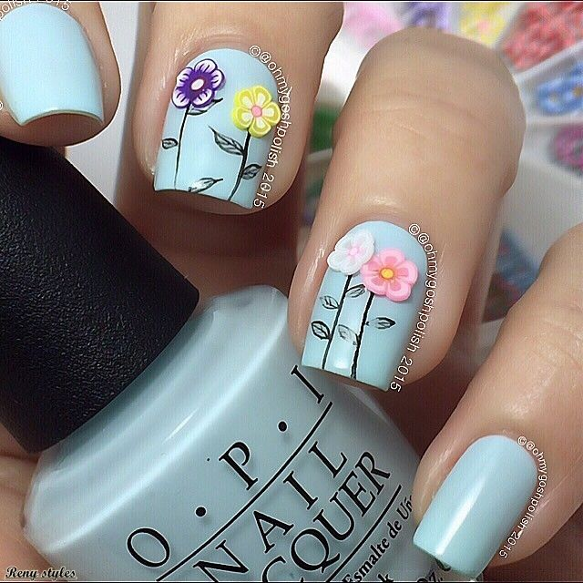 25+ Stylish & Elegant Nail Designs by ohmygoshpolish 2017/2018