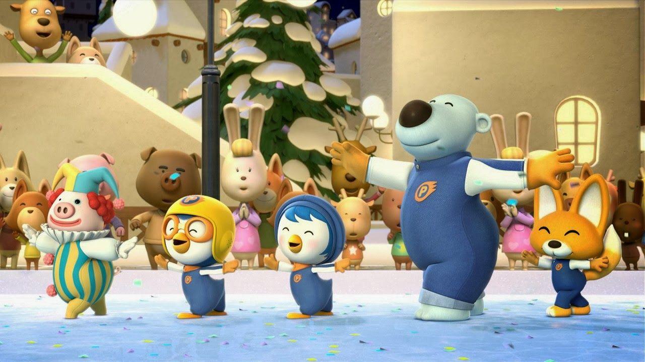 Bo Lulu Snow Adventure Cartoon Play with Friends Wallpaper For Dekstop Tablet and SmartPhone