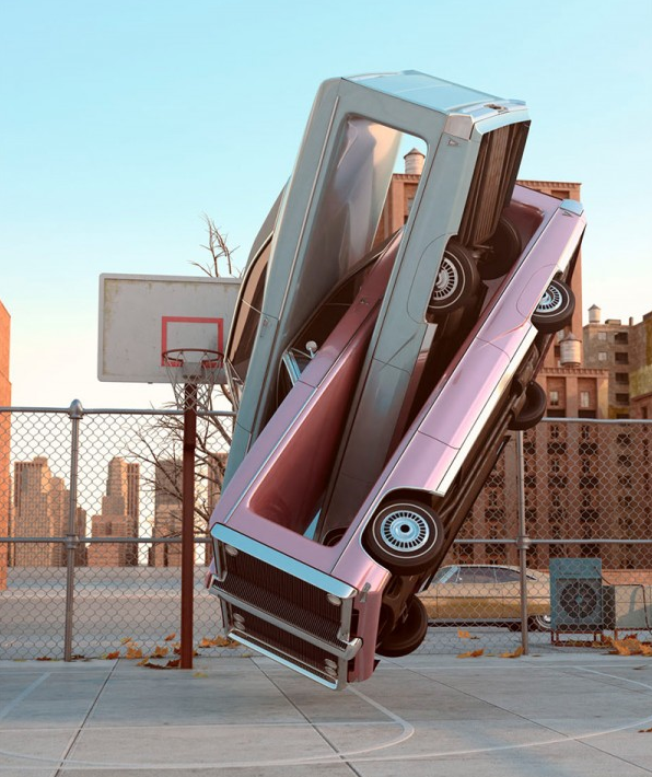 Auto Aerobics by Chris LaBrooy. Image found on www.123inspiration.com