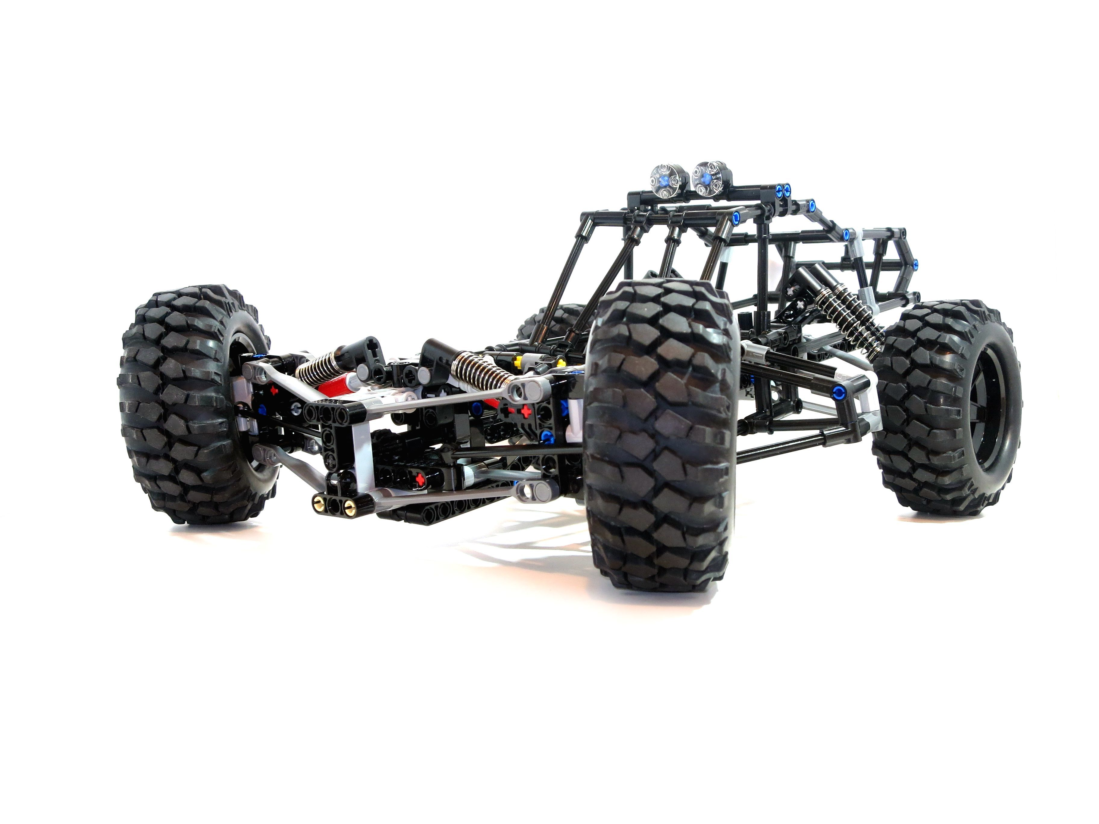my rc lego technic buggy lego technic low rider buggy. Black Bedroom Furniture Sets. Home Design Ideas