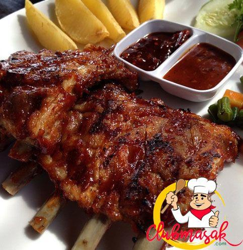 Balinese Style Barbequed Baby Back Ribs Indonesian Sweet Soy Sauce Glazed Grilled Pork Ribs Resep Babi Panggang Bumbu Bali Resep Babi Iga Babi Resep Iga