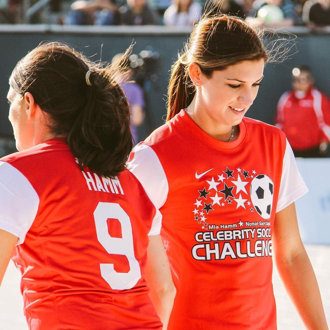Alex Mia Hamm Celebrity Soccer Challenge Mia