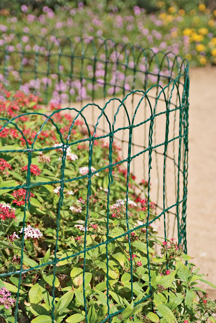 Decorative Wire Border Fence | Buy From Gardeners Supply  Love This,  Reminds Me