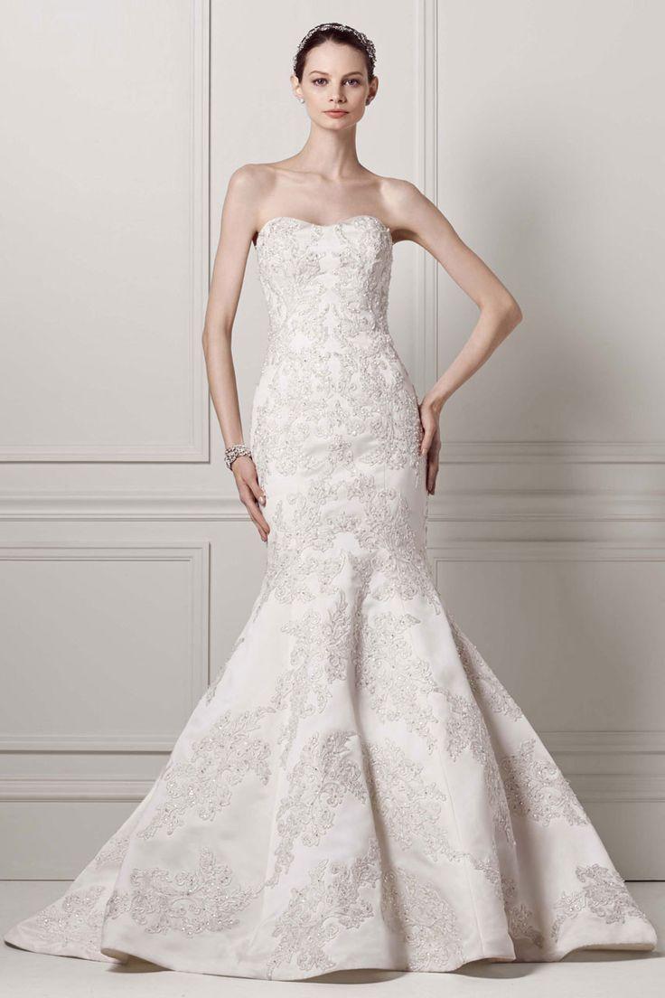Mermaid wedding dresses wedding gown by oleg cassini at davids mermaid wedding dresses wedding gown by oleg cassini at davids bridal junglespirit Images