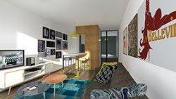changer creer un espace nuit dans un studio container la maison france 5