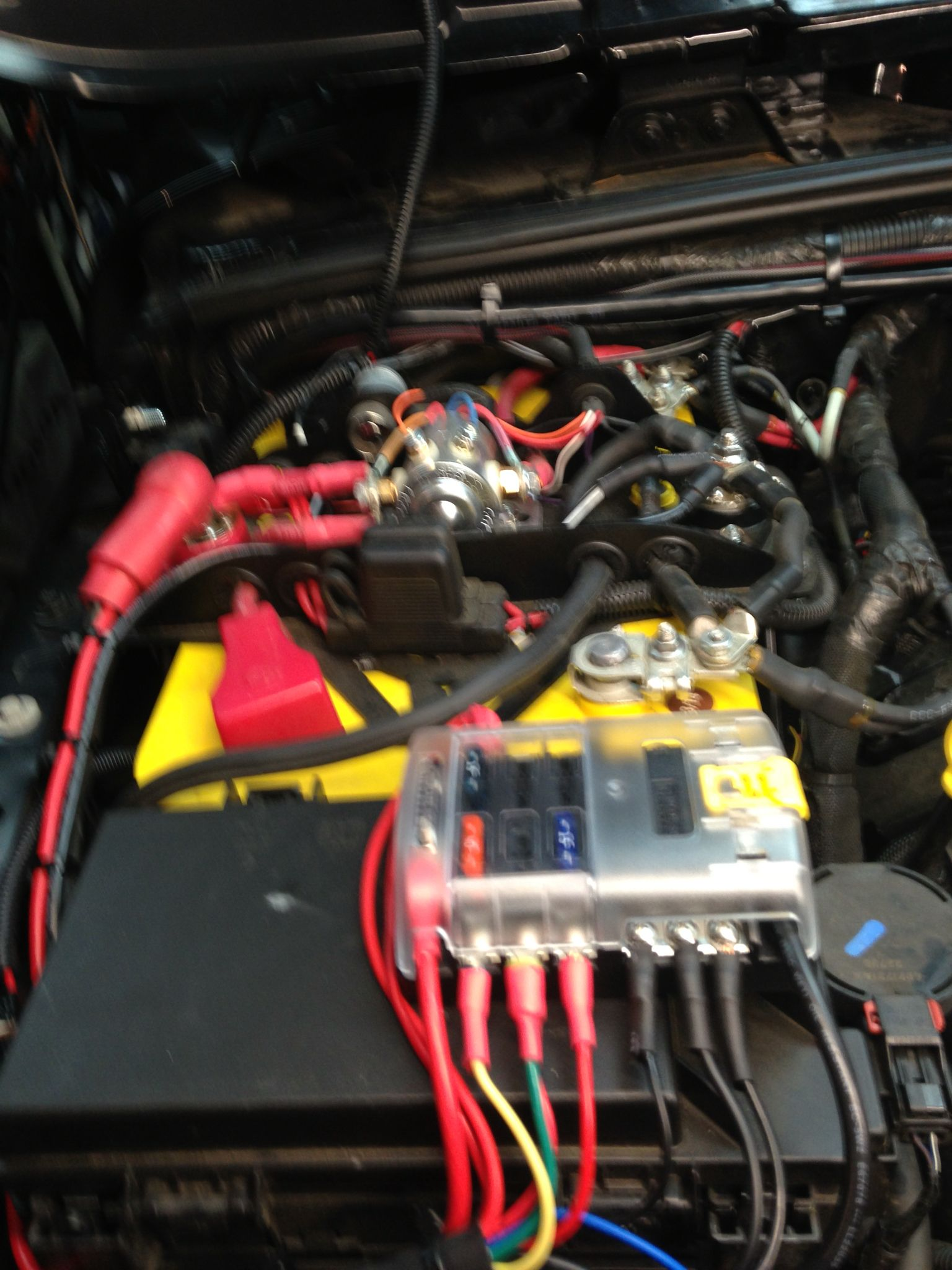 hight resolution of genesis dual battery along with blue sea 6 circuit fuse box mountedgenesis dual battery along with