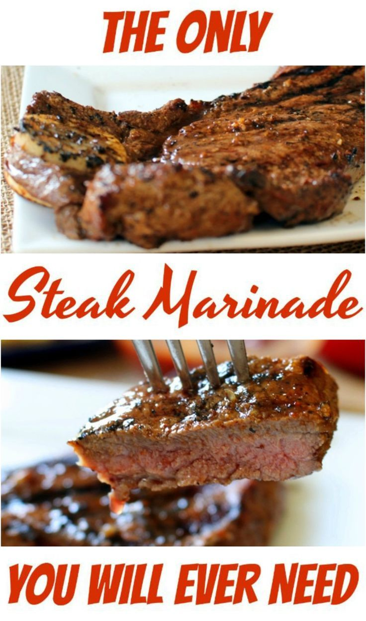 The Only Steak Marinade You Will Ever Need - The Ramblings of an Aspiring Small Town Girl #steakmarinades