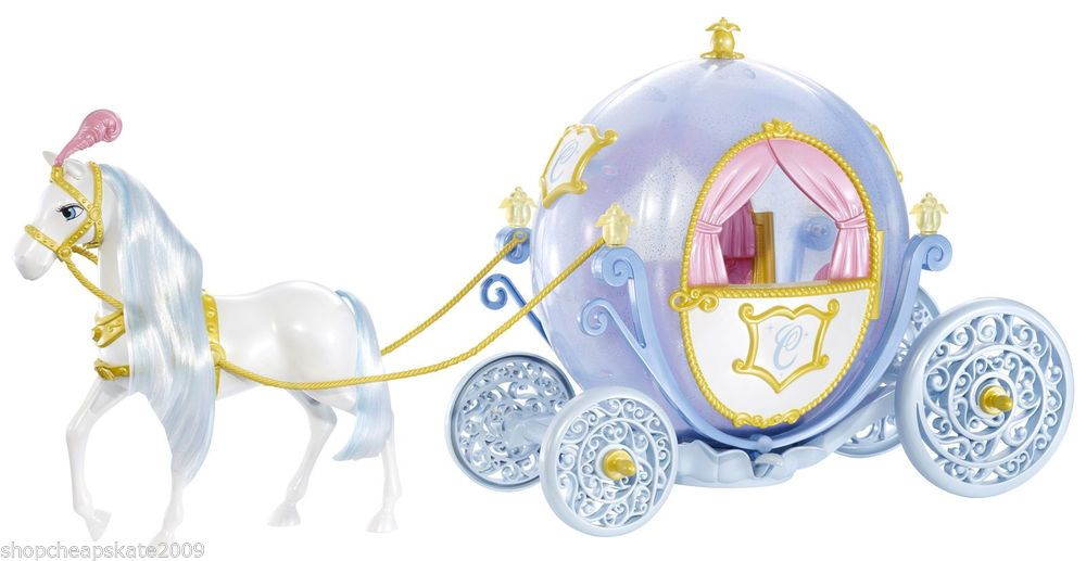 Disney Princess Cinderella Horse and Carriage Set  #Mattel