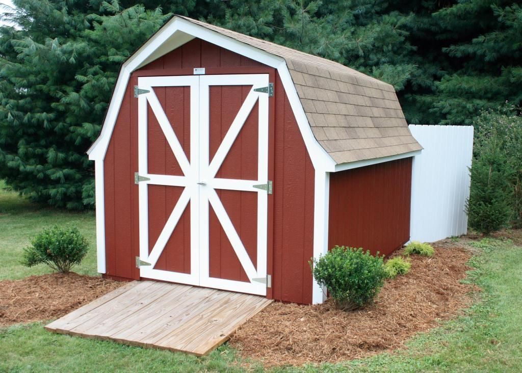 Gambrel Roof Shed Gable Which Design Best For You Types Barn