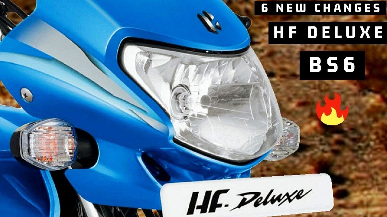 Finally Hero Hf Deluxe Bs6 Model 2020 Launched In India 6 New Changes In 2020 Hero Product Launch Model