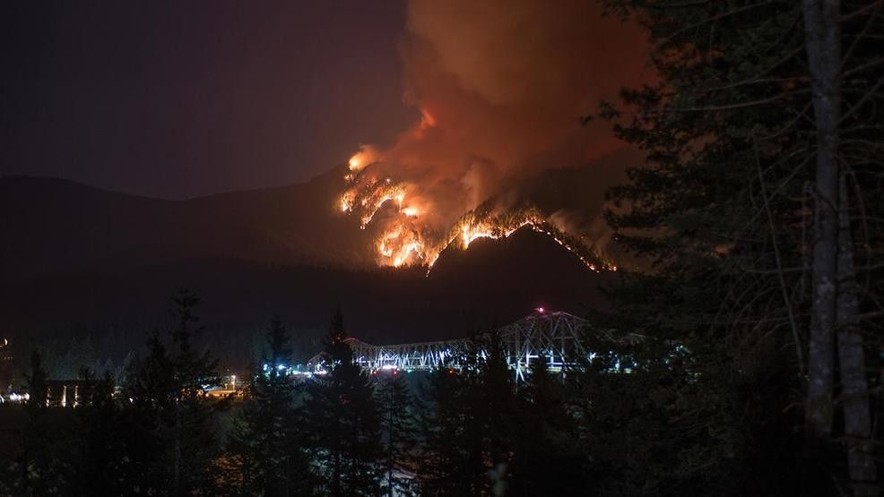 The human caused Eagle Creek Fire grew from
