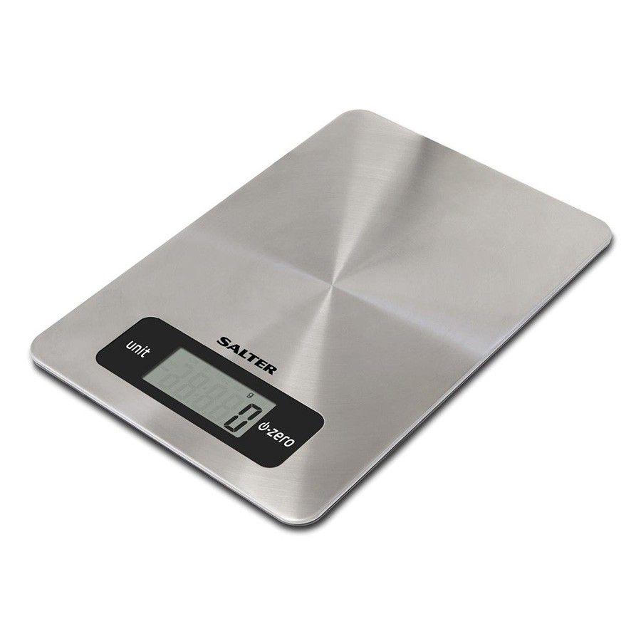 Salter Digital Kitchen Scales - Stainless Steel | Kitchen Scales ...