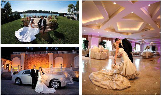 Villa Barone Hilltop Manor Mahopac New York Wedding Reception Site Ny