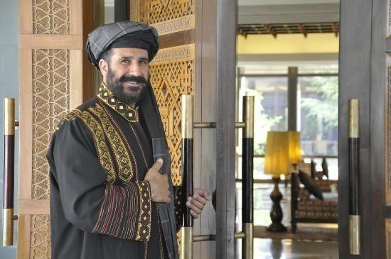 Kabul Serena Hotel Welcoming Doorman At Afghanistan Trip Advisor