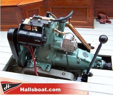 Single Cylinder Engine And Trans Boat