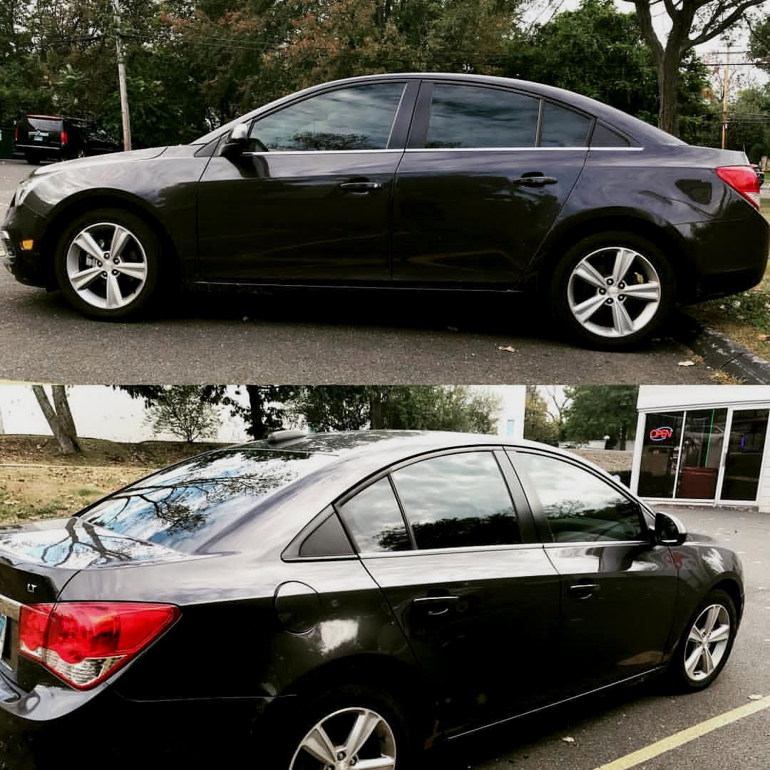 2015 Chevrolet Cruze With Our 3m Fx Premium Window Film On Side And Rear Glass We Offer The Best Quality Films A Tinted Windows 3m Window Film Premium Windows