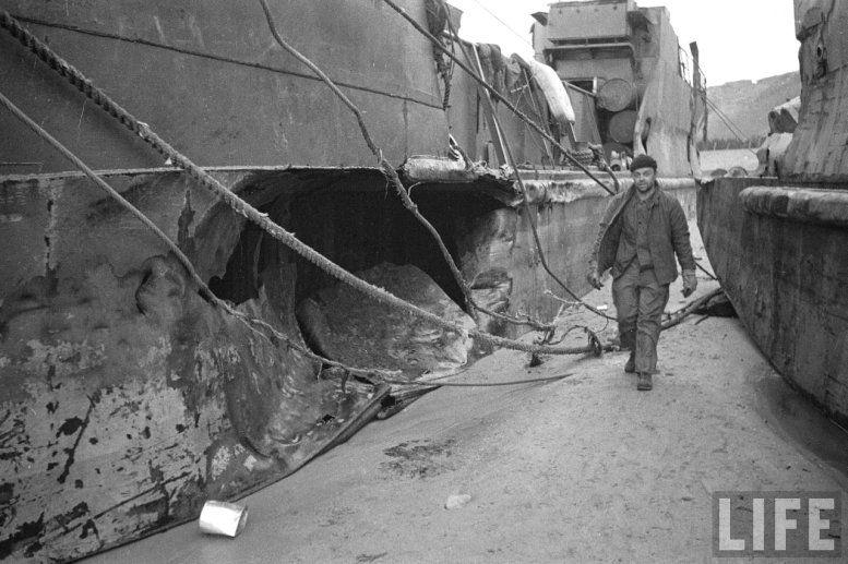Dégâts de la tempête du 19 au 21 juin 1944