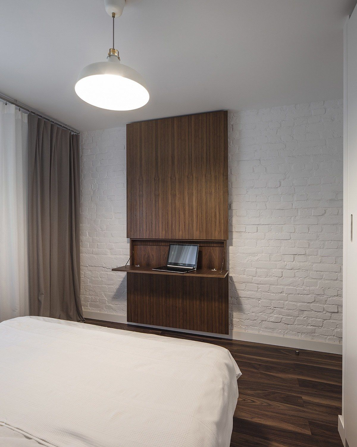 Superb Light And Charming Decor In A Compact 1 Bedroom Apartment