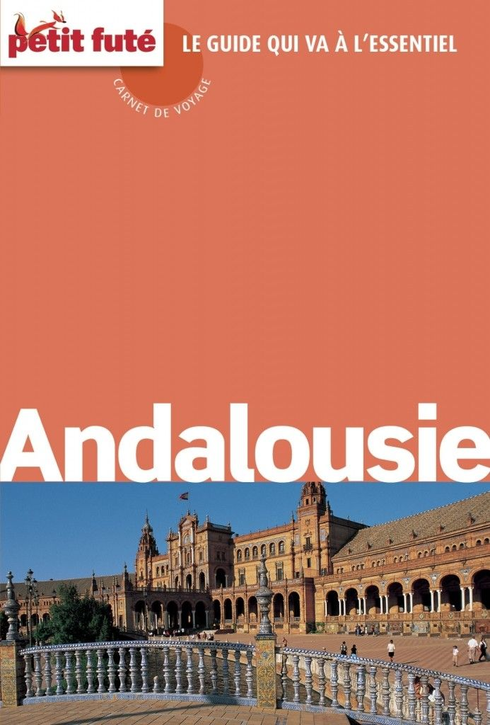 Guide touristique Petit Futé Andalousie édition 2015/2016.