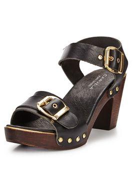 Carvela Kamp Wooden Sandals