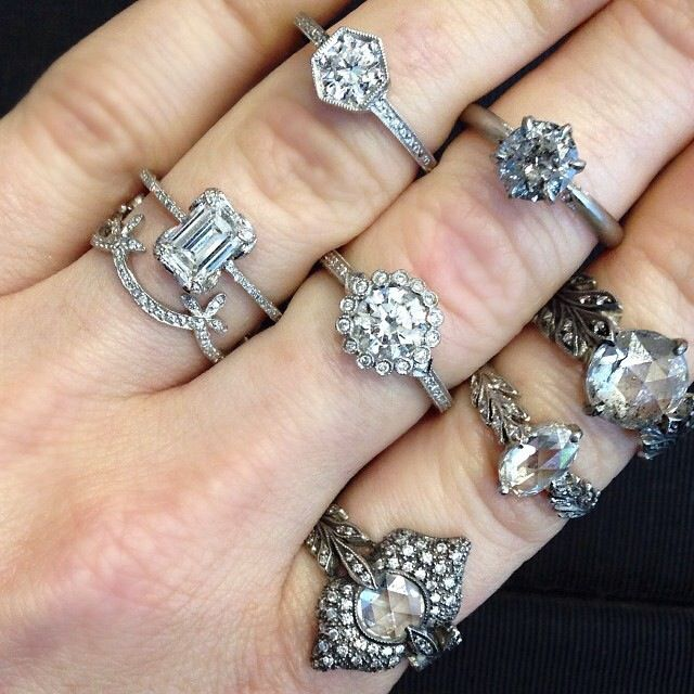 Cathy Waterman rings Vintage Jewelry Pinterest Cathy waterman